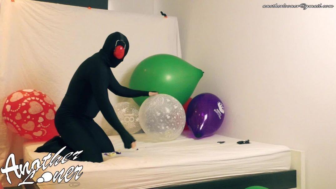 "Bouncing on Unicorn Balloon & Q18"" Knot Pop (Ses 31, Vid 2)"