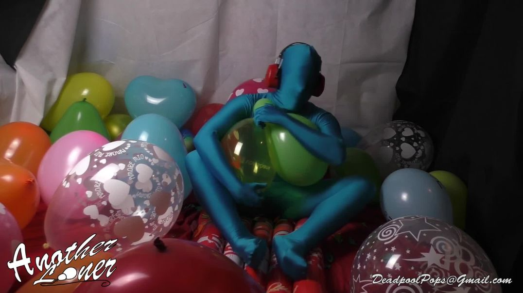 Hand and Leg Advertising Balloon Popping Action (Ses 18, Vid 2)