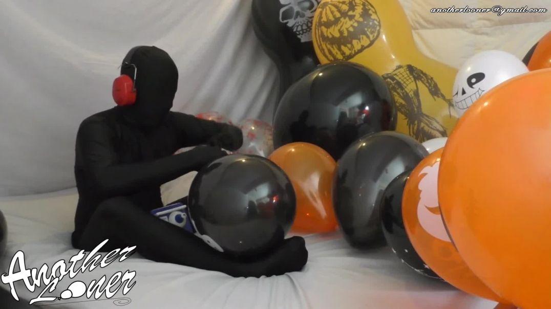 Q24 & Giant Black Doll Balloon Inflation - Halloween 2019 (Ses 26, Vid 14)