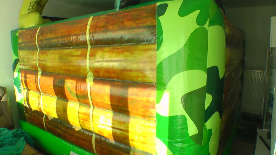 Backside & Deflet my Bouncy Castle