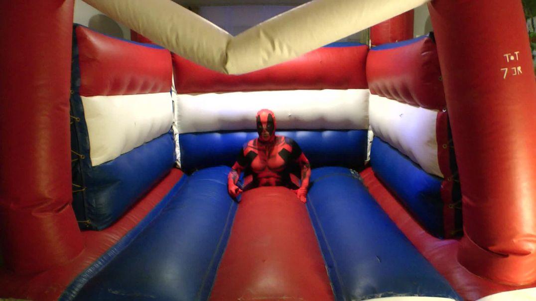 Bouncy Castle pop by Jumping