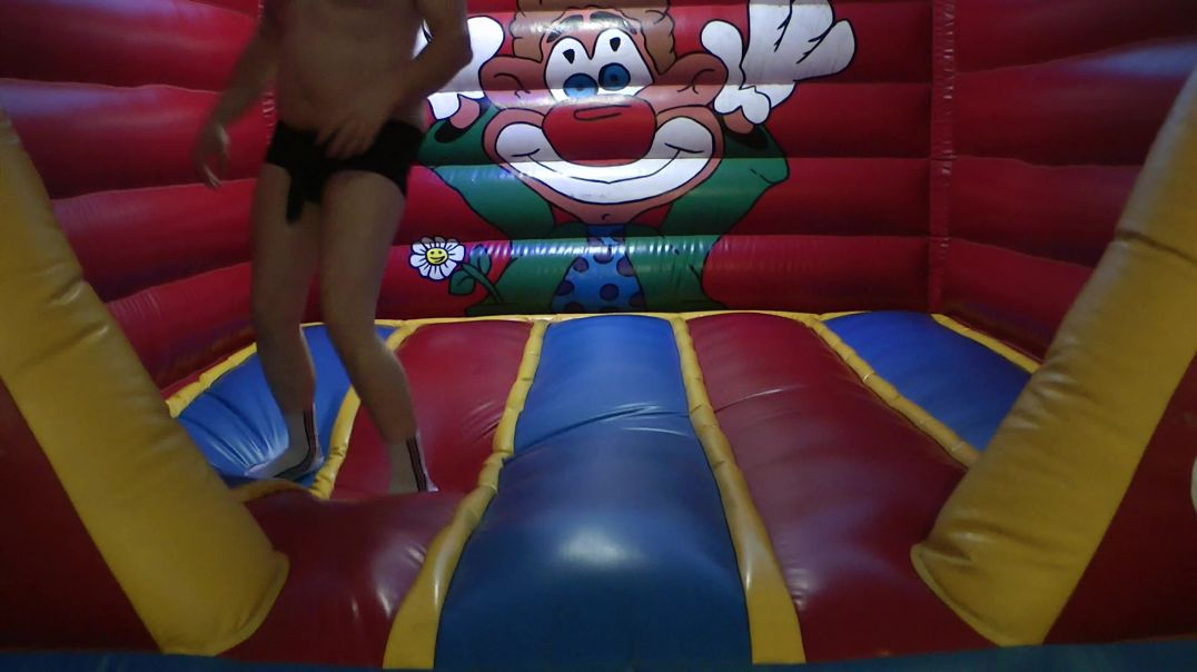 Jumping on Bouncy Castle