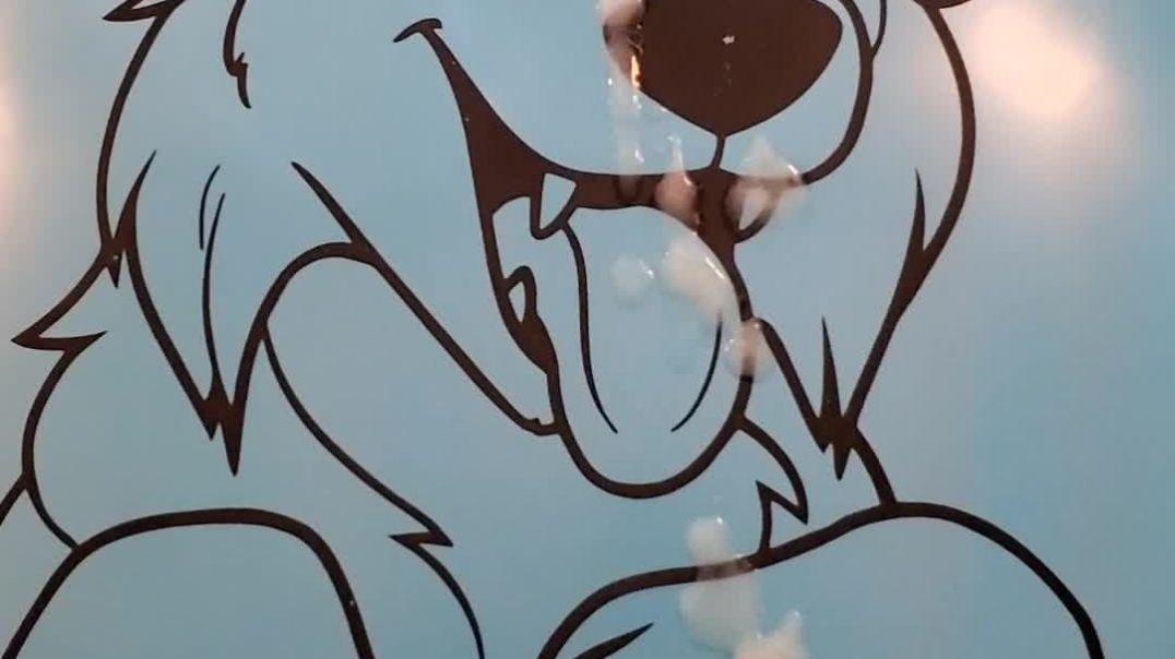 Dog Balloon Spray 1