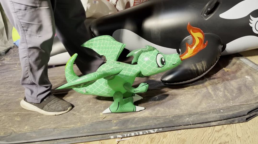 Stepping on a small dragon