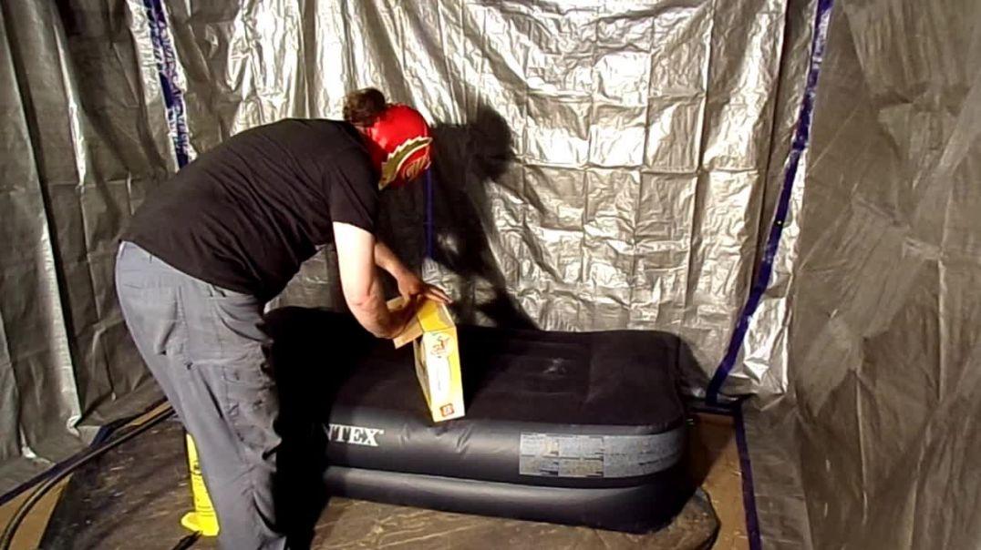 Inflating Huge Zebra Raft