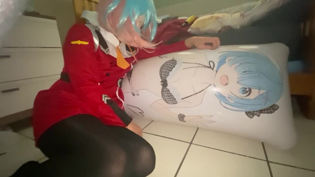Anime Rem Pillow Overinflate and Riding to Pop (Pt. 2)