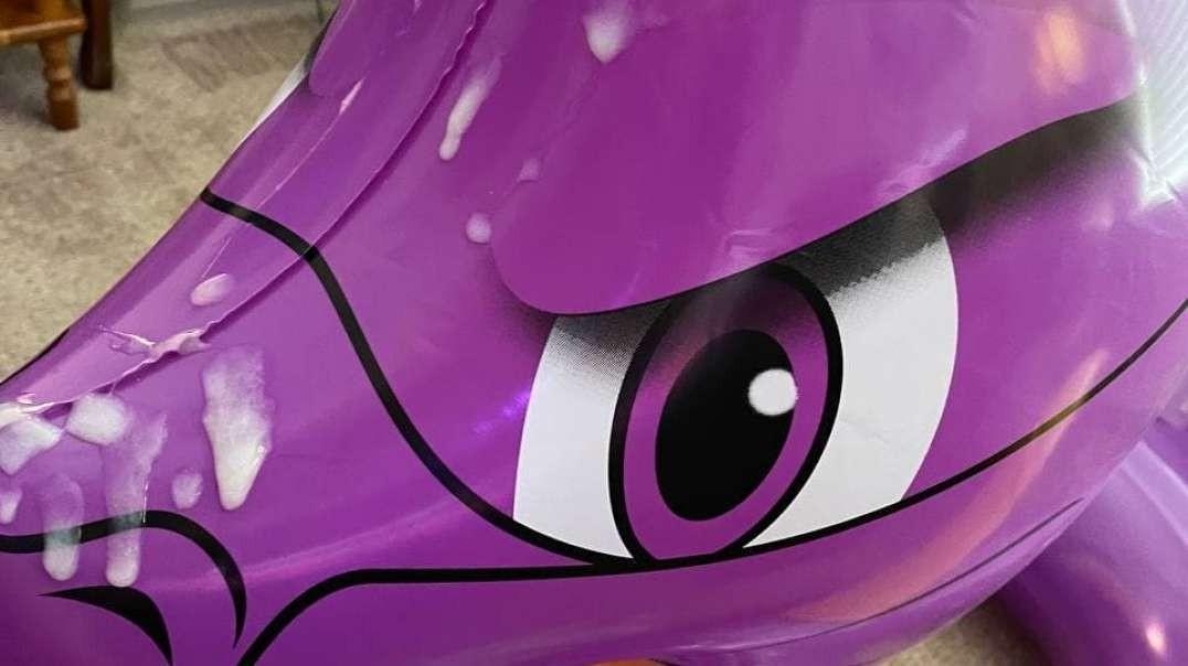 Spyro Swim Ring Facial