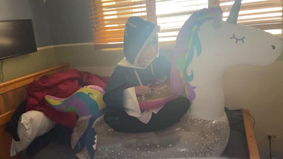 Inflatable Unicorn Poke Pop