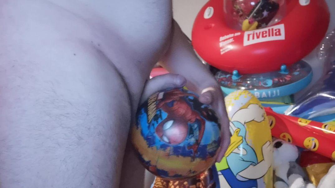Spiderman Playball Rubbing
