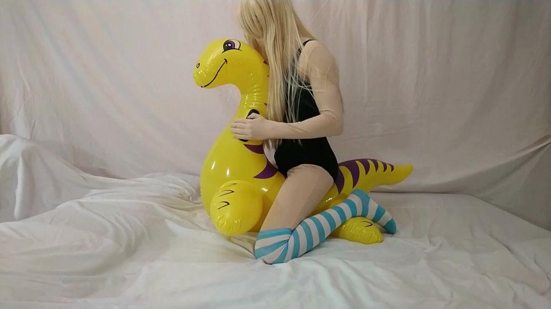 Intex Dino Ride & Deflation