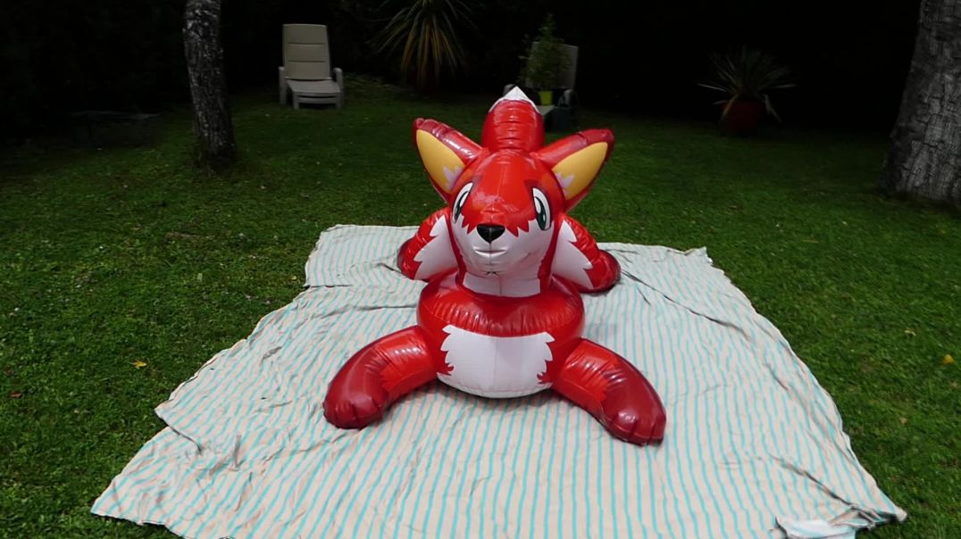 inflatable fox red inflatable world