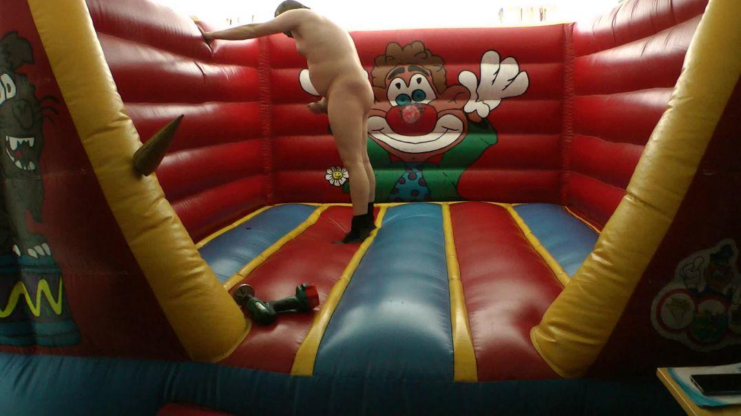 Make holes in Bouncy Castle