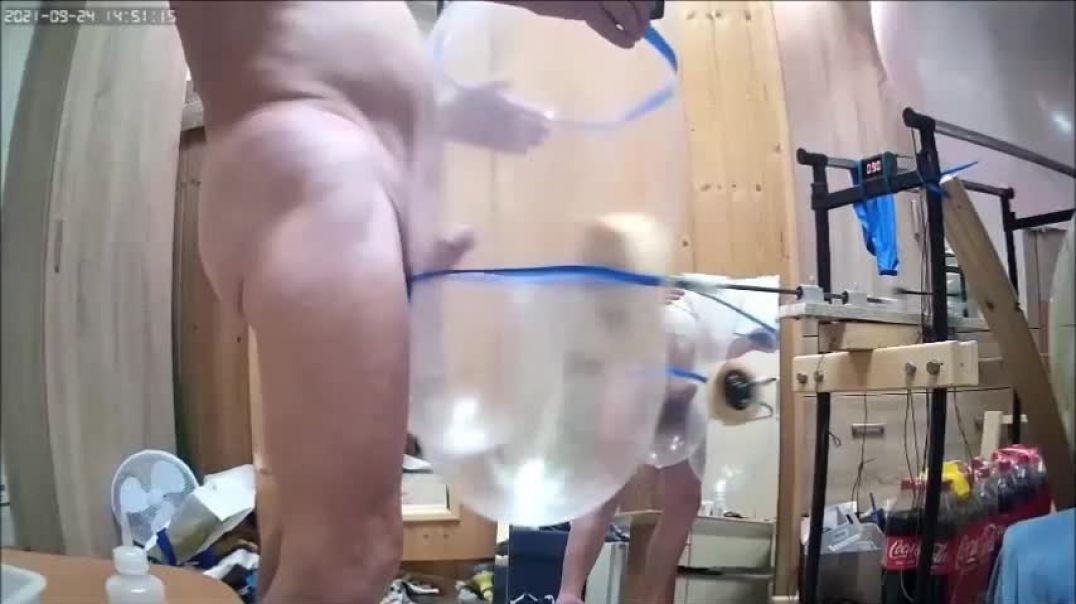 new_Condom Balloon Cum with machine