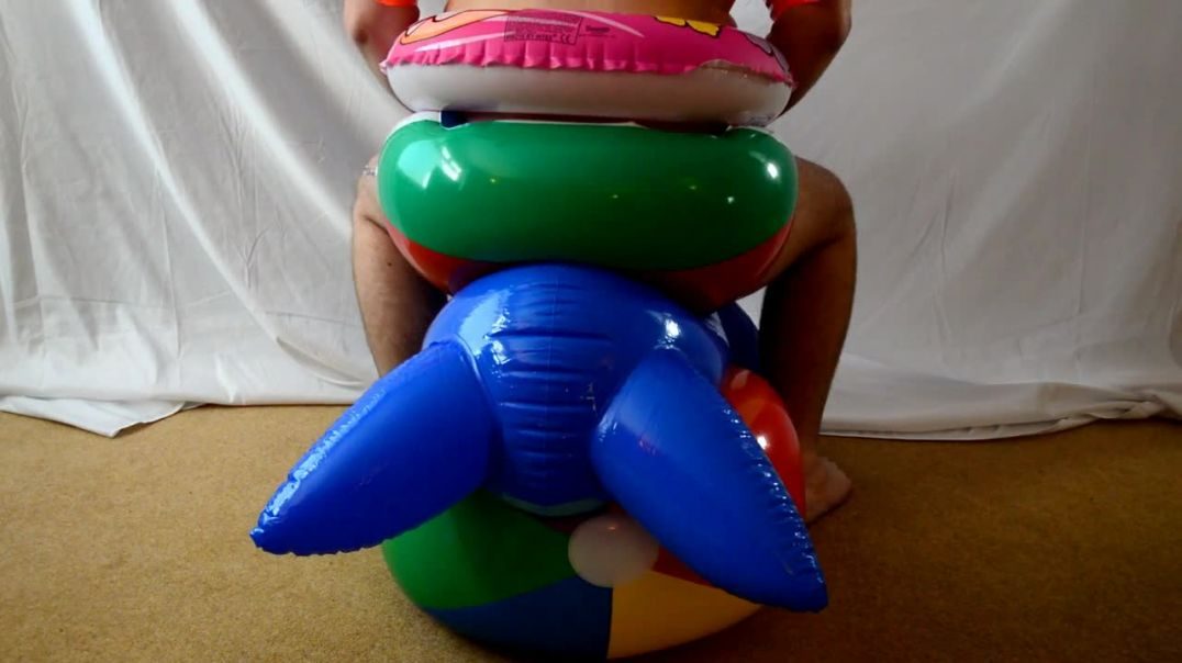 Walrus ride in inflatable gear