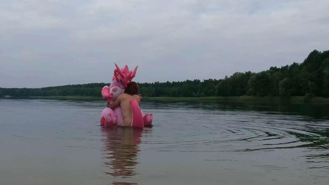 The magic morning at the forbidden lake