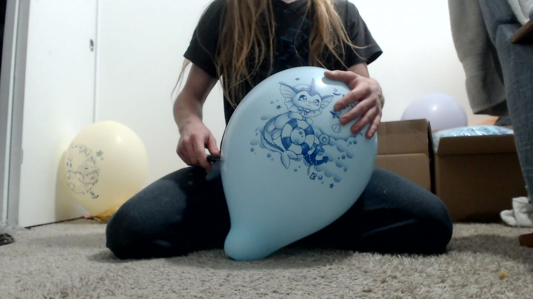 Popping (almost) all of my inflated prints
