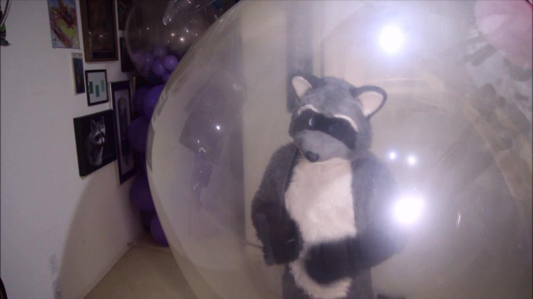 Rex Cums Inside Climb-in Balloon